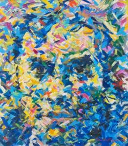 R. D. Brinkmann gemalt von Henning John von Freyend (1983)