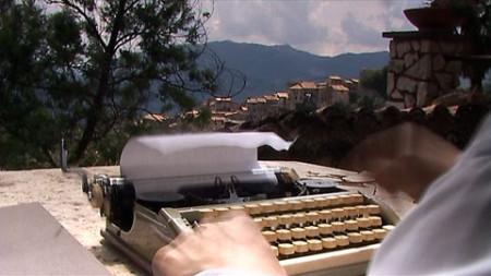 Harald Bergmann: Brinkmann in Olevano / Standfoto aus Brinkmanns Zorn (2006)