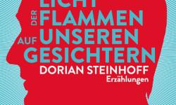 """Cover zum Erzählband von Dorian Steinhoff """"Das Licht der Flammen auf unseren Gesichtern"""" von 2013"""
