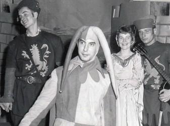 Rolf Dieter Brinkmann in einem Laienspiel, Essen (um 1960)