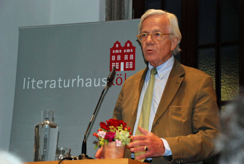 Dr. Ulrich Wackernagel, Vorstandsvorsitzender des Literaturhauses