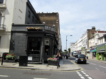 "Westbourne Grove 65, ""Shakespeare Pub"""
