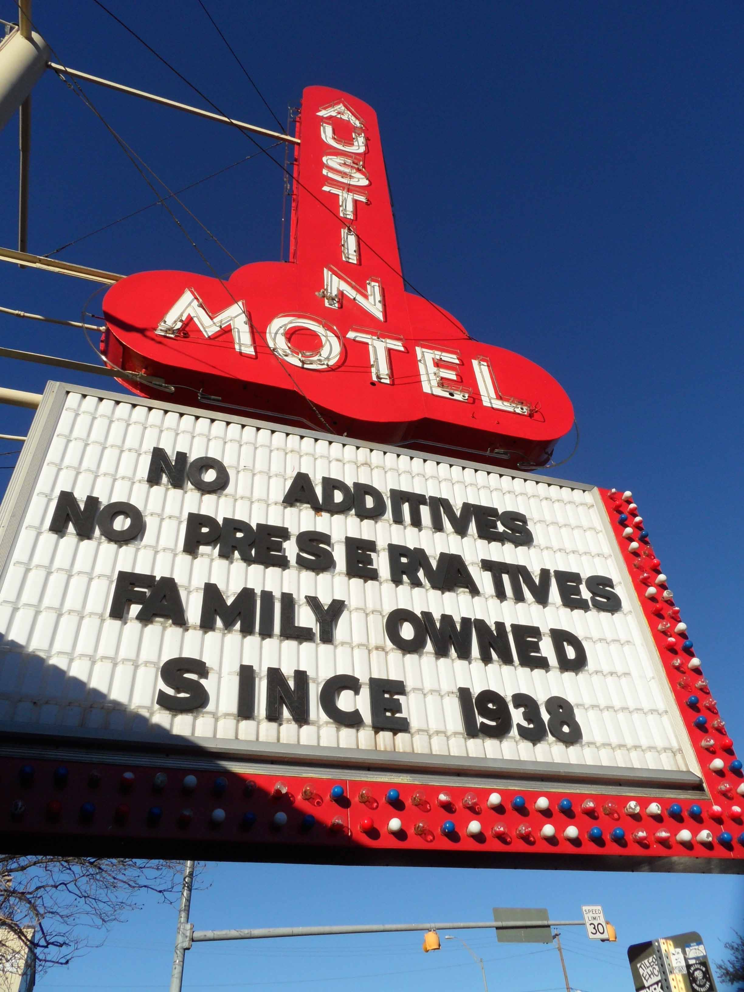 Motel in Austin