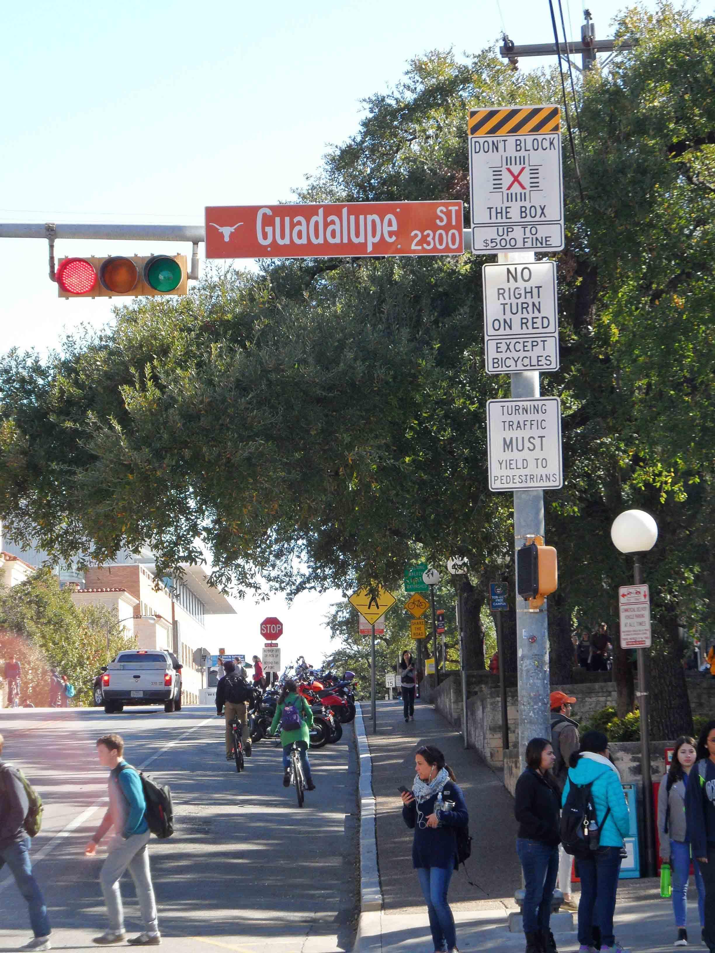 Guadeloupe Street, Austin/Texas