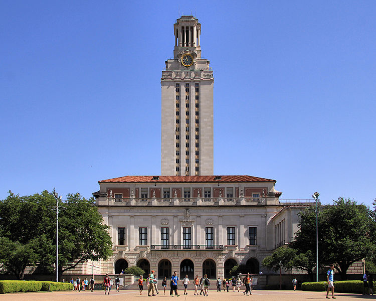 The University of Texas at Austin (Hauptgebäude)