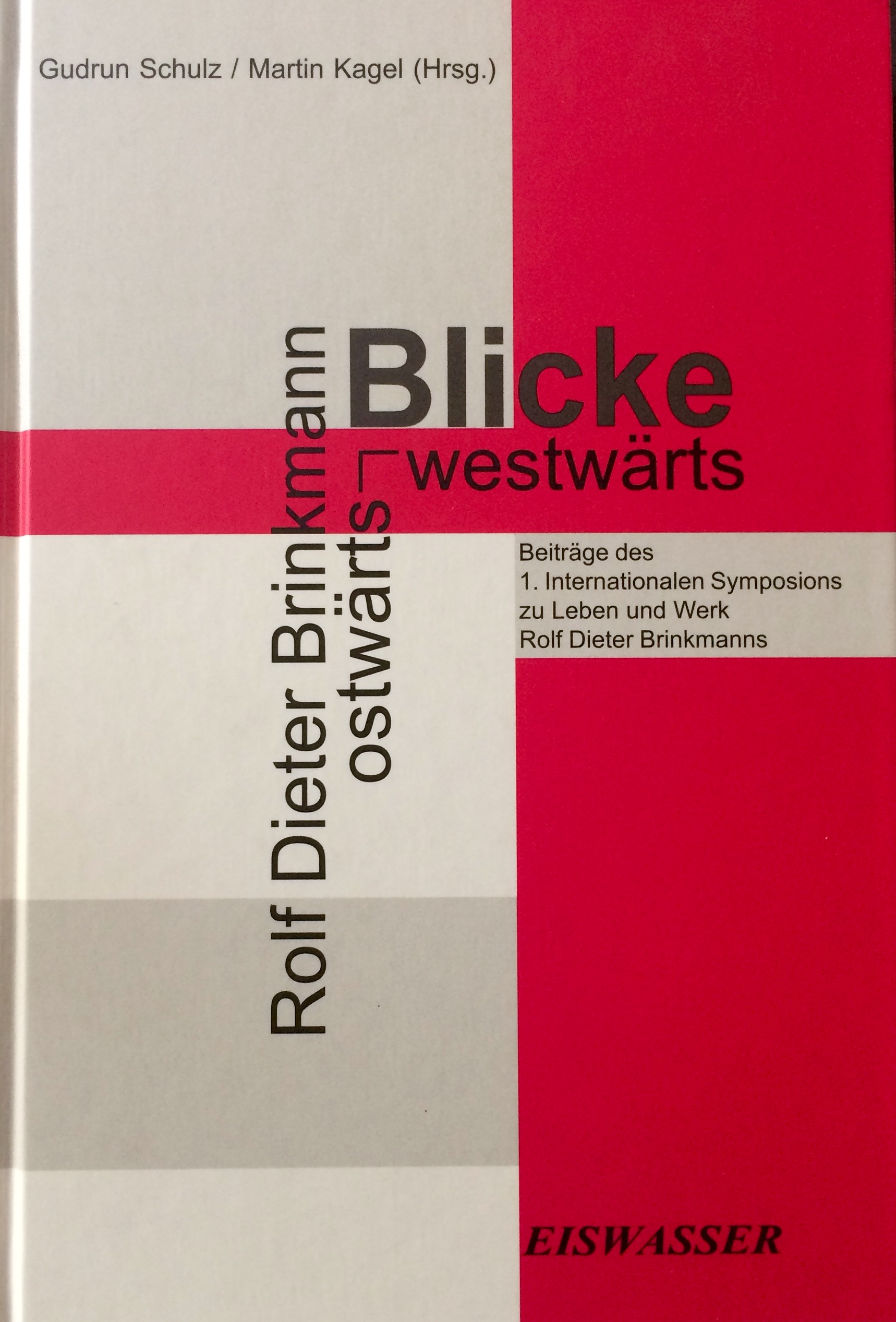 RDB-Cover_Symposium Vechta 2001